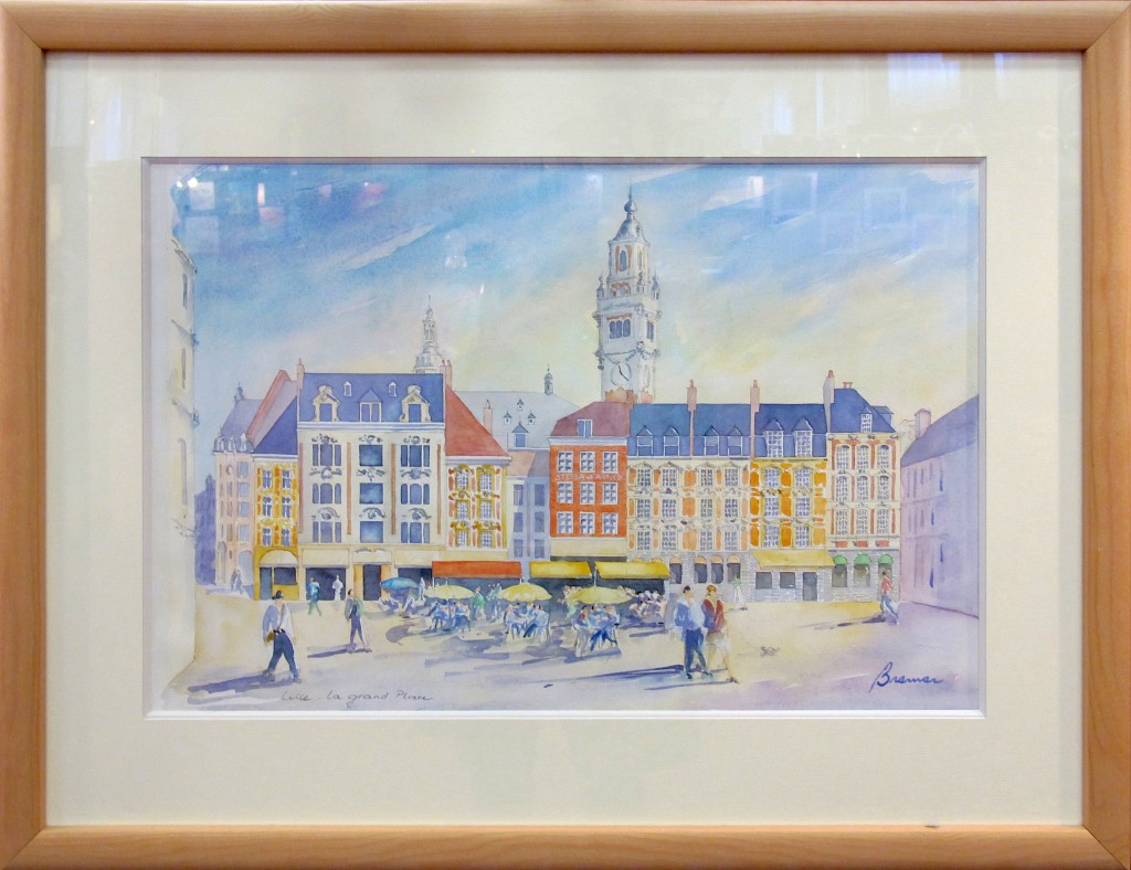 LILLE - La Grand-Place (aquarelle)