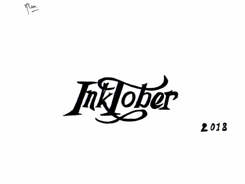 AAR 2018 InkTober0-6 © Introduction par Marilou DA X1